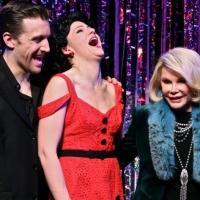 Photo Flash: Joan Rivers Visits FORBIDDEN BROADWAY!