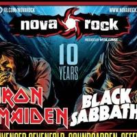 IRON MAIDEN and BLACK SABBATH to Headline NOVA ROCK 2014