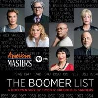 John Leguizamo, Billy Joel, Kim Cattrall & More Featured on PBS's THE BOOMER LIST Tonight