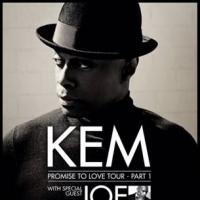 Motown Recording Artist KEM Kicks Off 'Promise to Love Tour' - Part 1 Tonight
