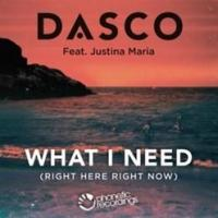 Dasco's New EDM Single 'What I Need (Right Here, Right Now)' Now Available