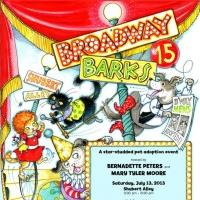 Official BROADWAY BARKS 15 Poster Unveiled