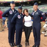 Idina Menzel Shares Behind-the-Scenes Photos of MLB ALL STARS GAME!
