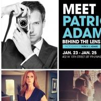 USA Network to Host Gallery Exhibit Featuring Photos by SUITS Star Patrick J. Adams