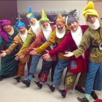 Photo Flash: Saturday Intermission Pics, Dec 14 - Men Alive Makes 'A Dwarf-us Line', BOOK OF MORMON's 'A Wreath of Franklin' and More!
