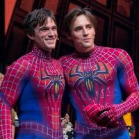 Photo Coverage: Reeve Carney Takes Final Flight as SPIDER-MAN; Justin Matthew Sargent Takes Over!