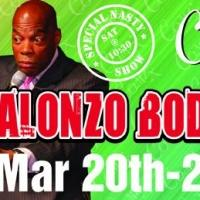 Comix At Foxwoods Presents Alonzo Bodden, Now thru 3/22