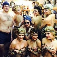 Photo Flash: Saturday Intermission Pics, June 21 - ROCKY, BULLETS, AVENUE Q and More Prep for BROADWAY BARES!