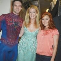 Photo Flash: Real Housewife of NY Alex McCord Visits SPIDER-MAN