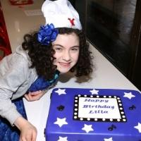 FREEZE FRAME: ANNIE's Lilla Crawford Celebrates 12th Birthday with Broadway Friends!