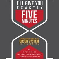 Peter Danish Announces Latest Book, I'LL GIVE YOU EXACTLY FIVE MINUTES, Available Today