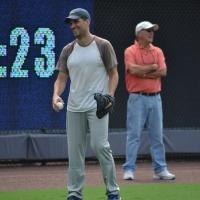 Photo Flash: Will Swenson & BULL DURHAM Cast Get Baseball Training from Braves Triple A Team
