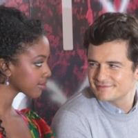 Photo Coverage: ROMEO AND JULIET's Orlando Bloom & Condola Rashad Sign Juliet's Wall at Richard Rodgers Theatre!