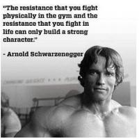 Fitness Tip of the Day: Build Strong Character