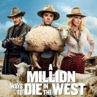 Photo Flash: First Look - Just-Released Poster for MacFarlane's MILLION WAYS TO DIE IN THE WEST