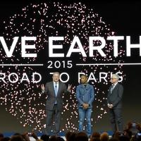 Pharrell Williams, Al Gore and Kevin Wall Launch Live Earth: Road to Paris
