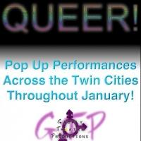 Gadfly's QUEER! Set for Pop-Up Performances Across the Twin Cities Next Month