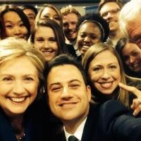 JIMMY KIMMEL Challenges Ellen's Oscar Photo with Clinton Family Selfie