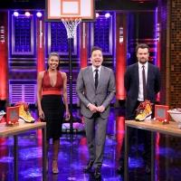 VIDEO: Gabrielle Union & Josh Duhamel Compete in Random Object Shootout on TONIGHT