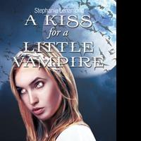"""Stephanie Lenamond's first book """"A Kiss for a Little Vampire"""" is a spine tingling work that grabs hold of the reader with its intricate plot line and demands to be read."""