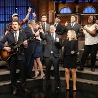 VIDEO: Amy Poehler & Cast of PARKS & REC Celebrate Series Finale on LATE NIGHT