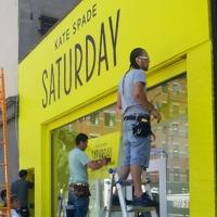 Kate Spade Saturday Store Features a Giant Touchscreen Storefront
