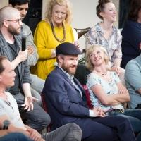 Photo Flash: RICHARD III and EAST IS EAST Cast Attend Q&A with Artistic Director, Jamie Lloyd