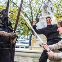Photo Coverage: ONE MAN LORD OF THE RINGS Takes A Walk In London!