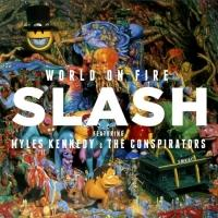SLASH Set for 3rd Top Ten Album Debut with 'World On Fire'