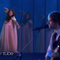 VIDEO: ELLEN Inserts Herself Into Recent Ed Sheeran Performance!