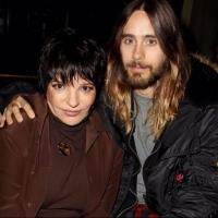 Photo Flash: Jared Leto Hangs with Liza Minnelli
