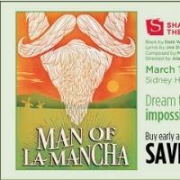 Save 50% on STC's MAN OF LA MANCHA in Washington DC!