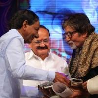 Actor Amitabh Bachchan Confers ANR National Award