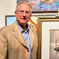 Mark and Jan Hilbert of the Hilbert Collection Donate Rex Brandt Watercolor to Laguna College of Art and Design Permanent Collection
