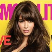 Photo Coverage: Kim Kardashian's Cosmo Cover