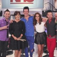 Photo Flash: Recycled Percussion Performs on 'Kris' with Kris Jenner 7/29