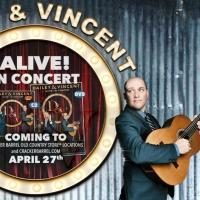 Dailey & Vincent ALIVE! In Concert CD to Be Available in All Cracker Barrel Old Country Store This April