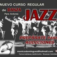 Curso de Jazz para actores impartido por M�nica Dom�nguez