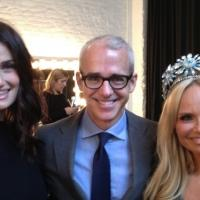 Photo Flash: Sneak Peek - WICKED's Idina Menzel and Kristin Chenoweth Pose for EW's 'Reunions' Issue