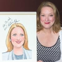 Photo Coverage: Kristine Nielsen Gets Surprise Portrait at Sardi's