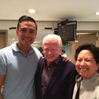 Photo Flash: Philippine Ambassador Jose L. Cuisia Visits The Public's HERE LIES LOVE