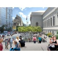 Metropolitan Museum's Redesigned David H. Koch Plaza to Open to the Public, Today