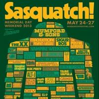 2013 Sasquatch! Music Festival Sells Out; Kicks Off Today at The Gorge