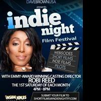 Emmy-Winning Casting Director Robi Reed Teams with INDIE NIGHT Film Festival in Search of Talented Actors
