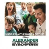 Soundtrack for 'ALEXANDER AND THE TERRIBLE, HORRIBLE DAY' Out Today