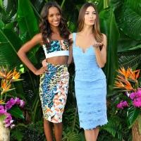 Victoria's Secret's Lily Aldridge and Jasmine Tookes Launch The Sexiest Push Ups