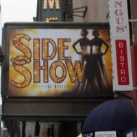 Photo Flash: Marquee Goes Up for Broadway's SIDE SHOW