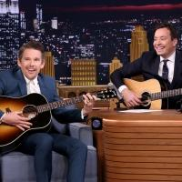 VIDEO: Jimmy & Ethan Hawke Perform 'Bob Dylan Lullabies' on TONIGHT