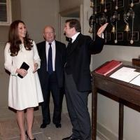 Photo Flash: Kate Middleton Visits the Set of DOWNTON ABBEY!