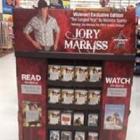 Nicholas Sparks' THE LONGEST RIDE Showcased at Walmart During 'Sparks Month,' Through June 6